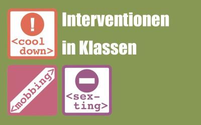 """Intervention: Weil es trotzdem """"passieren"""" kann"""