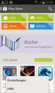 Illustration In-App-Käufe Playstore
