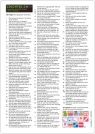 Miniatur 103 Fragen