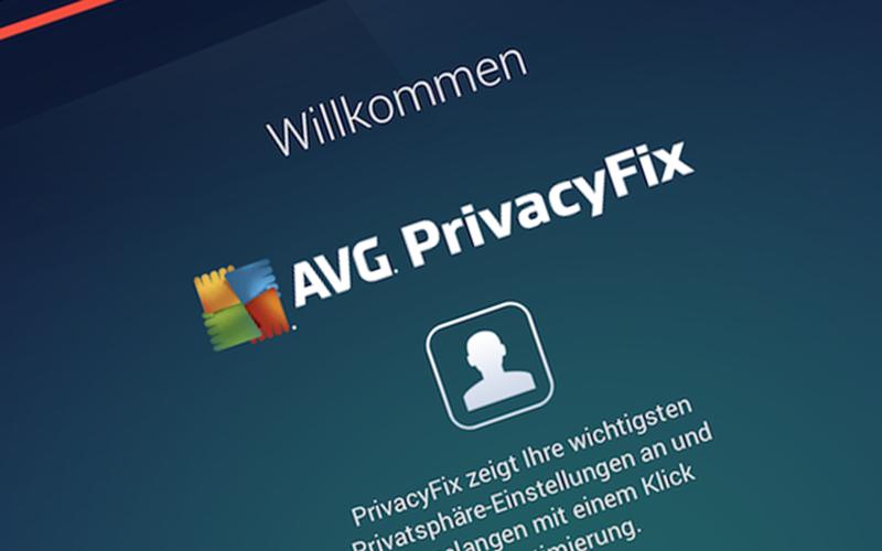 Einfacher Kurzcheck mit AVG PrivacyFix