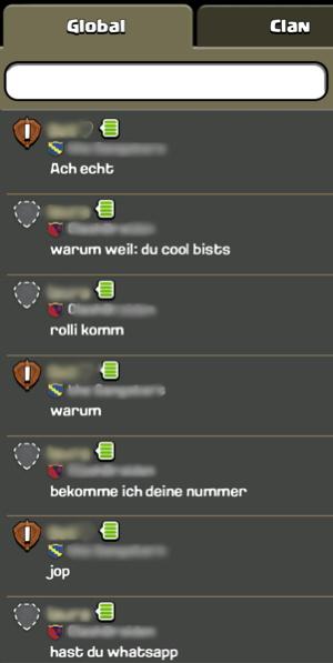 Illustration: Wie im Chat Anfragen eingehen.