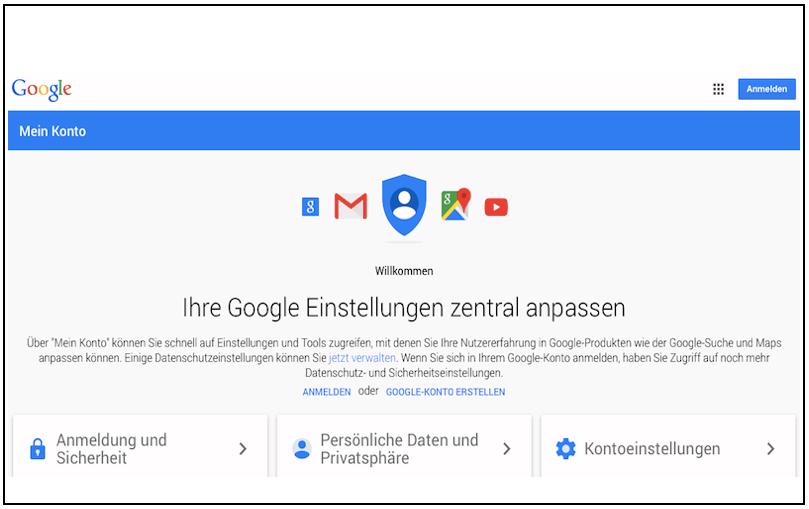Privatsphäre-Check jetzt auch bei Google!