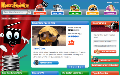 Leser-Tipp: kinderfilmwelt.de gibt Orientierung