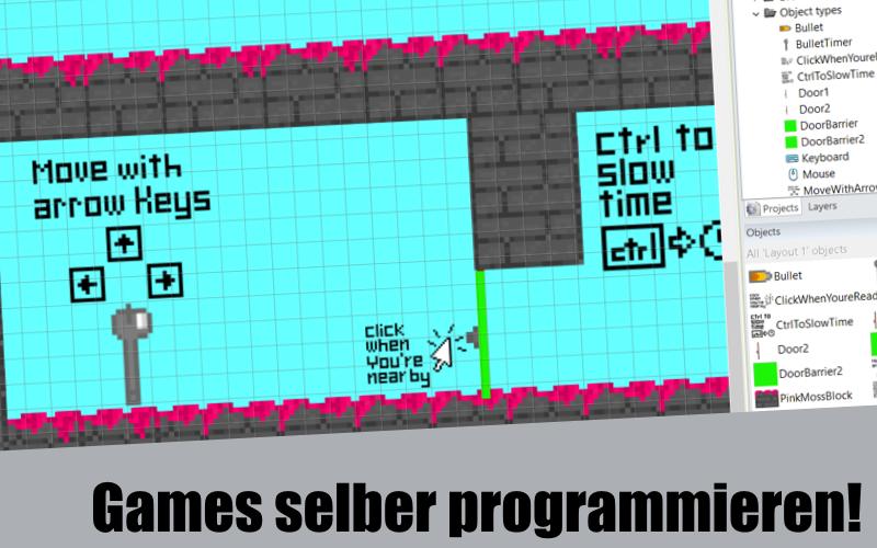 Ein Game programmieren! Für Kurzentschlossene.