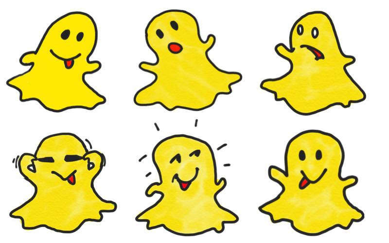 Snapchat – Kinder und Jugendliche lieben den Geist