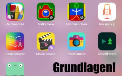 Apps für Kindergärtler? Erst die Basisfunktionen!