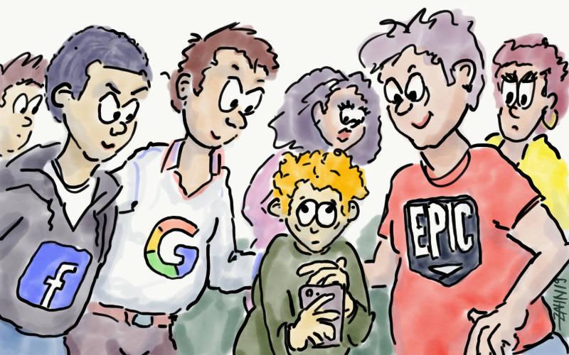 Kinder und Datenschutz