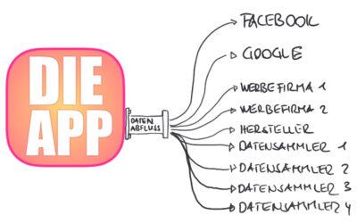 Dekonstruktion: Apps geben Daten weiter!