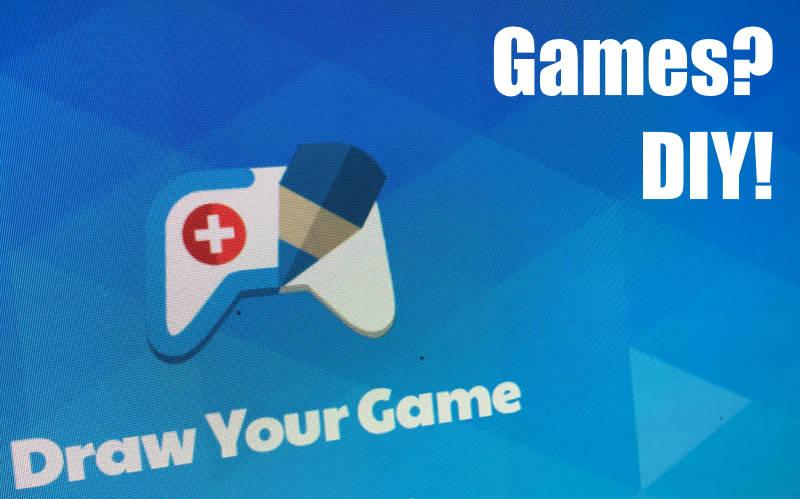 Abwechslung beim Gamen – Spiele selber machen