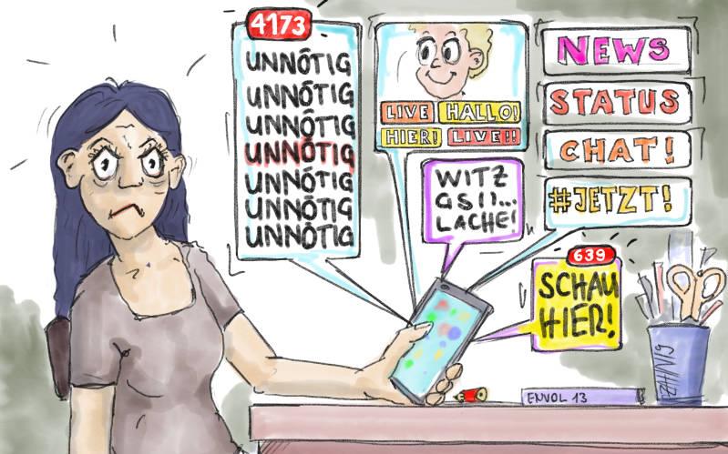 Stress mit dem Handy? – Abgrenzung muss man lernen!