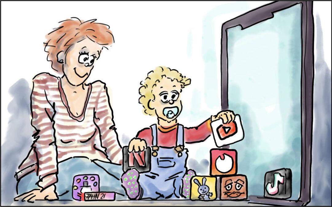 Kleine Kinder und Bildschirm … ok?